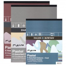 Daler Rowney : Murano : Pastel Paper : Gummed Pads