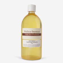 Wallace Seymour : Alkali Refined Cold Pressed Linseed Oil