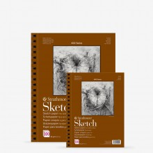 Strathmore : 400 Series : Spiral Sketch Pad : 89gsm : 100 Sheets