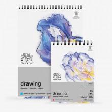 Winsor & Newton : Drawing : Cartridge Spiral Pads : 150gsm : 25 Sheets