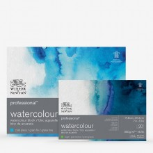 Winsor & Newton : Professional : Watercolour Paper Blocks : 300gsm : 20 Sheets