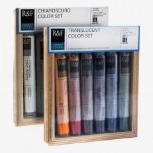 R & F : Pigment Stick Sets