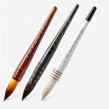 Silver Brush : Atelier Quill Brush : Series 5025S / 5225S / 5325S