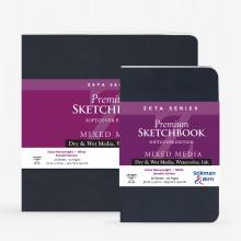 Stillman & Birn : Zeta Softcover Sketchbooks : 270gsm : Smooth