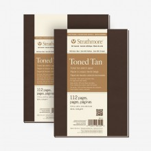 Strathmore : 400 Series : Toned Tan : Softcover Art Journals