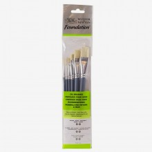 Winsor & Newton : Foundation Oil Brush Sets