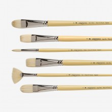 Winsor & Newton : Long Handled Artist Hog Brushes
