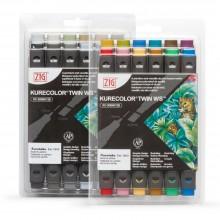 Kuretake : Zig : Kurecolor Twin WS Marker Sets