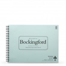 Bockingford : Spiral Fat Pad : 300gsm : 11x15in : 25 Sheets : Not