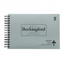 BOCKINGFORD : SPIRAL FAT PAD : 140LB : 300GSM : 7.5X11IN : 25 SHEETS : NOT