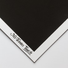 Canson : Mi-Teintes : Touch Pastel : Paper : 335gsm : 50x65cm : 425 : Black