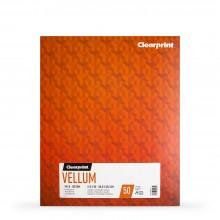 Clearprint : Vellum : Paper : 14x17in : 24lb (90gsm) : 50 Sheets