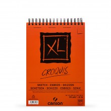 Canson : XL : Croquis : Spiral Pad : 90gsm : 120 sheets : A4
