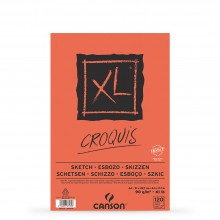 Canson : XL : Croquis : Glued Pad : 90gsm : 100 Sheets : A4