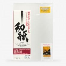 Awagami Washi : Kozo Thin White : Inkjet Paper : 70gsm : 10 Sheets : A3+