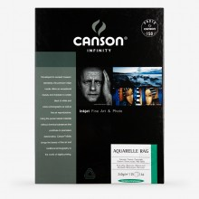 Canson : Infinity : Aquarelle : Inkjet Paper : 240gsm : 25 Sheets : A4