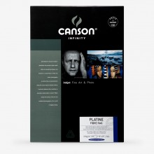 Canson : Infinity : Plantine Fibre Rag : Inkjet Paper : 310gsm : 25 Sheets : A3+