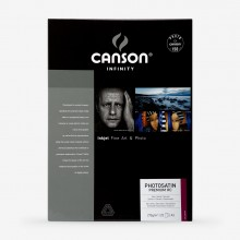 Canson : Infinity : Photosatin Premium : Inkjet Paper : 270gsm : 25 Sheets : A3