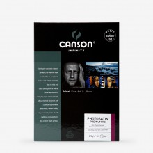 Canson : Infinity : Photosatin Premium : Inkjet Paper : 270gsm : 25 Sheets : A4