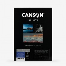 Canson : Infinity : Rag Photographique : Inkjet Paper : 210gsm : 25 Sheets : A4