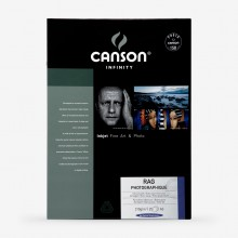 Canson : Infinity : Rag Photographique : Inkjet Paper : 310gsm : 25 Sheets : A3