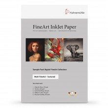 Hahnemuhle : Digital Inkjet Paper : Selection Pack : 14 Sheets : A4 : Textured