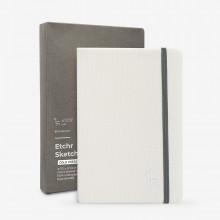 Etchr : Portrait Sketchbook : 100% Cotton : 230gsm : A5 : Cold Pressed