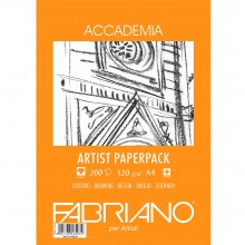 Fabriano : Accademia Drawing Paper : 120gsm : A4 : 200 Sheets