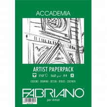 Fabriano : Accademia Drawing Paper : 160gsm : A4 : 150 Sheets