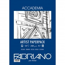 Fabriano : Accademia Drawing Paper : 200gsm : A3 : 50 Sheets