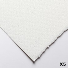 Fabriano : Artistico : 300gsm : 22x30in : 5 Sheets : Extra White : Rough
