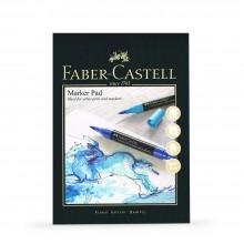 Faber Castell : Gummed Marker Pad : 70gsm : 50 Sheets : A3