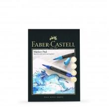 Faber Castell : Gummed Marker Pad : 70gsm : 50 Sheets : A4