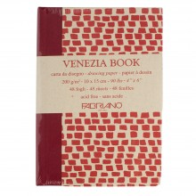 Fabriano : Venezia Book : 10x15cm : 4x6in : 200gsm : Academia Cartridge