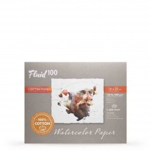 Global : Fluid 100 Easy Block : Watercolour Paper : 300gsm : 16x20in : Cold Pressed