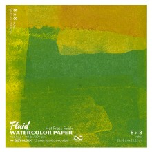 Global : Fluid Easy Block : Watercolour Paper : 300gsm : 8x8in : Hot Pressed