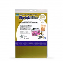 Grafix : Shrink Film : A4 : 6 Pack : Gold and Silver Colours