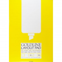 Goldline : Layout Pad : 50gsm : 210x297mm (A4 21x29.7cm)