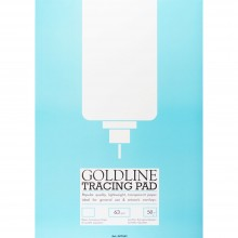 Goldline : Popular Tracing Pad : 63gsm : 210x297mm (A4 21x29.7cm)