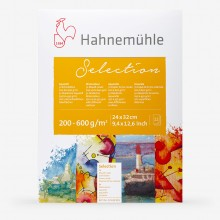 Hahnemuhle : Aquarell Selection : Watercolour Paper Pad : 12 Sheets : 24x32cm