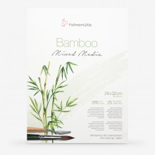 Hahnemuhle : Bamboo : Multi Media Paper : Pad : 24x32cm : 265gsm : 25 Sheets