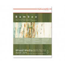 Hahnemuhle : Bamboo : Multi Media Paper : Pad : 30x40cm : 265gsm : 25 Sheets