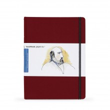 Hand Book Journal Company : Drawing Journal : 10.5x8.25in : Large Portrait : Vermilion Red