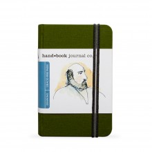 Hand Book Journal Company : Drawing Journal : 5.5x3.5in : Portrait : Cadmium Green