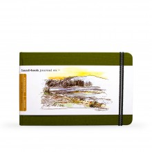 Hand Book Journal Company : Drawing Journal : 5.5x8.25in : Landscape : Cadmium Green