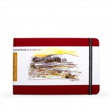 Hand Book Journal Company : Drawing Journal : 5.5x8.25in : Landscape : Vermilion Red