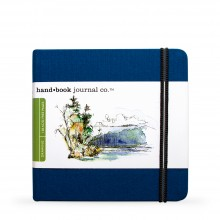 Hand Book Journal Company : Drawing Journal : 5.5x5.5in : Square : Ultramarine Blue