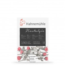Hahnemuhle : Nostalgie Sketch Pad : 190gsm : 50 Sheets : Natural White : A5