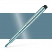 Faber Castell : Pitt : Artist Pen : Metallic Blue