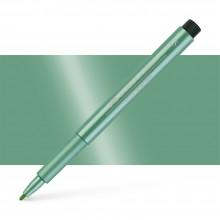 Faber Castell : Pitt : Artist Pen : Metallic Green